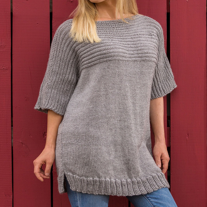 Knitting Patterns For Larger Ladies : Tunic Knitting Patterns ? Knitting Bee (13 free knitting patterns)