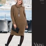 Camel Sweater Dress Free Knitting Pattern