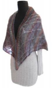 Cobblestones Shawl Free Lace Knitting Pattern