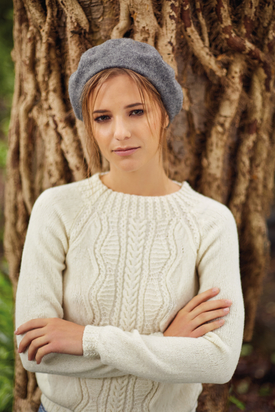 Cuban Cable Sweater Free Knitting Pattern