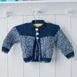 Easy Baby Cardigan Free Knitting Pattern