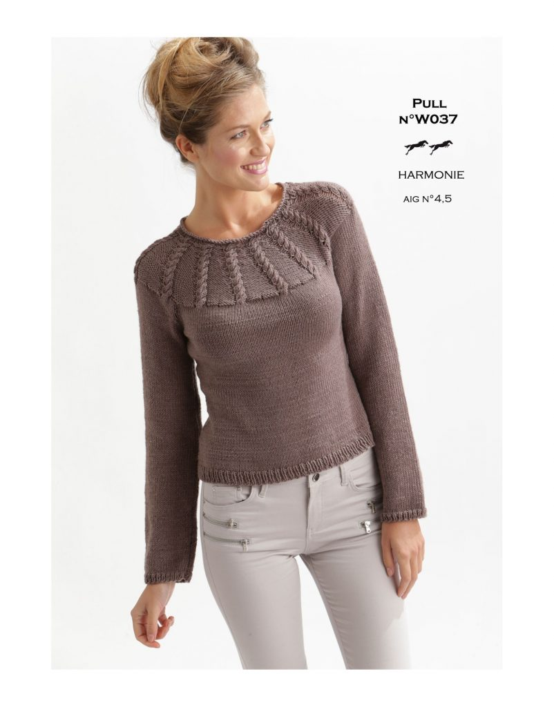 Fitted cabled yoke sweater free knitting pattern knitting bee fitted cabled yoke sweater free knitting pattern bankloansurffo Images