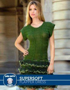 Flapper Dress Free Knitting Pattern