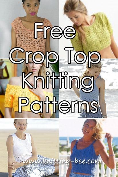 Crop Top Knitting Patterns Free Knitting Bee