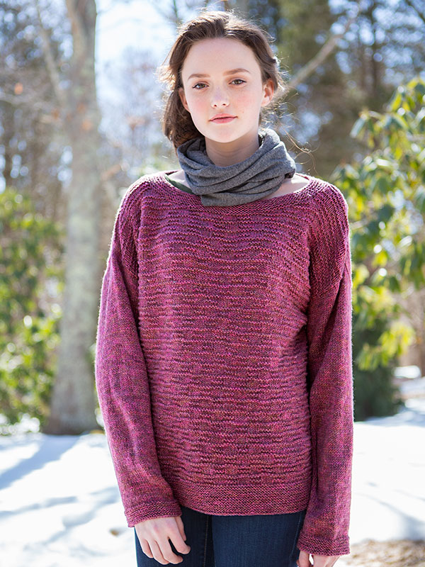 Free and Easy Sweater Knitting Patterns for Women 4 ⋆ Knitting Bee