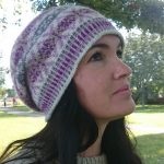 Häxans Slouchy Fair Isle Hat Free Knitting Pattern
