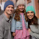 Herringbone Hat Free Kitting Pattern for Everyone