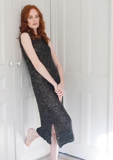 Johanna Full Length Dress Free Knitting Pattern