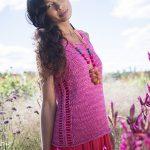 Kiribati Easy Top Free Knitting Pattern