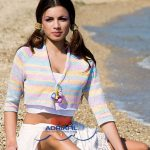 Madre Perla Mini Cropped Cardigan Free Knitting Pattern