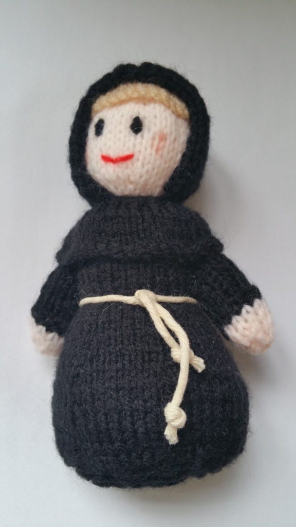 Monks Free Knitting Pattern
