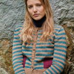 Ogaden Striped Cardigan Free Knitting Pattern
