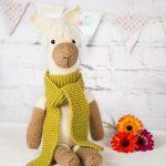 Pax the Alpaca Free Animal Knitting Pattern