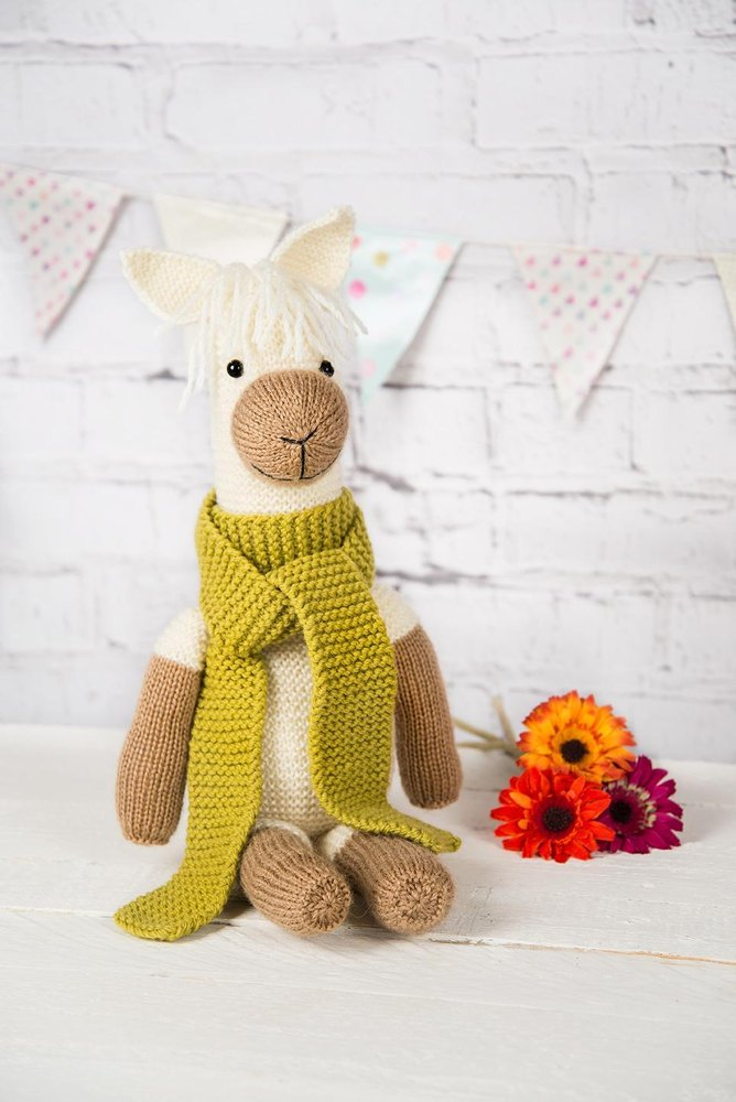 Free toy alpaca knitting pattern Patterns ⋆ Knitting Bee (1 free ...