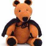 Pumpkin Bear Free Halloween Knitting Pattern