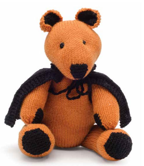 Pumpkin Bear Free Halloween Knitting Pattern