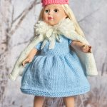 Royal Princess Doll Outfit Free Knitting Pattern 18 Inch Doll