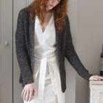 Simple Garter Cardigan Free Knitting Pattern