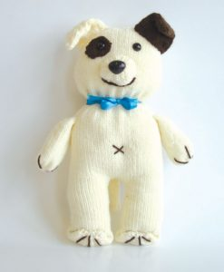 Sad the Dog Free Knitting Pattern