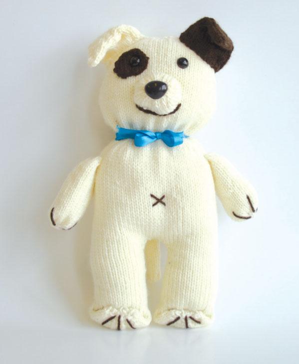 Sad the Dog Free Knitting Pattern