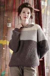 Torrent cosy easy jumper free knitting pattern