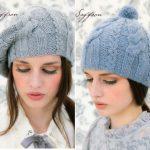 Two Saffron Hats Free Knitting Patterns
