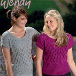 Wheat Stitch Top Free Knitting Pattern