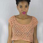 Zach's Bay Crop Top Free Knitting Pattern
