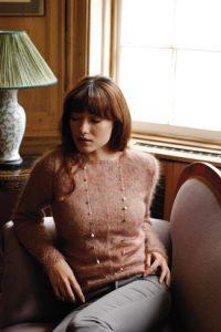 easy stylish vintage style sweater free knitting pattern