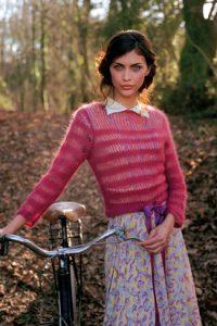 fine knit sweater free knitting pattern