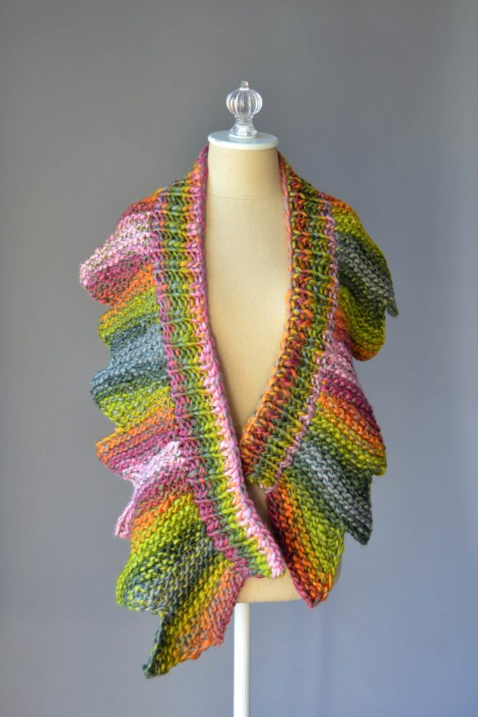 Free Variegated Yarn Scarf Knitting Patterns Patterns Knitting