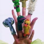 Animal Finger Puppets Free Knitting Pattern