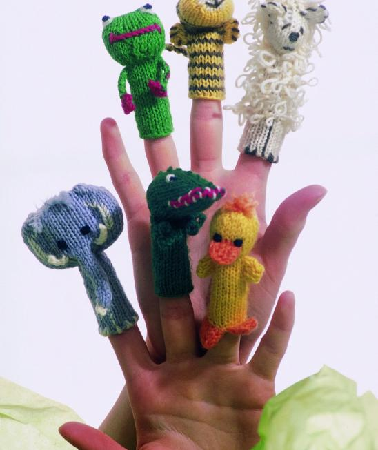 Animal Finger Puppets Free Knitting Pattern Knitting Bee