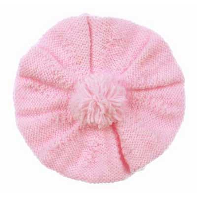 Baby Beret Free Knitting Pattern