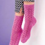 Beginner's Lace Socks Free Knitting Pattern