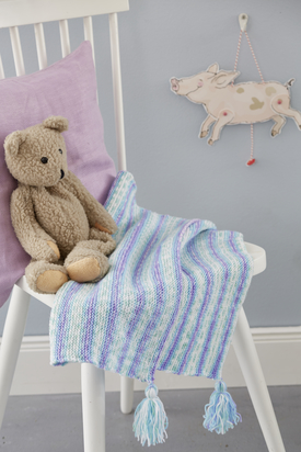 Beginner Baby Blanket Free Knitting Pattern