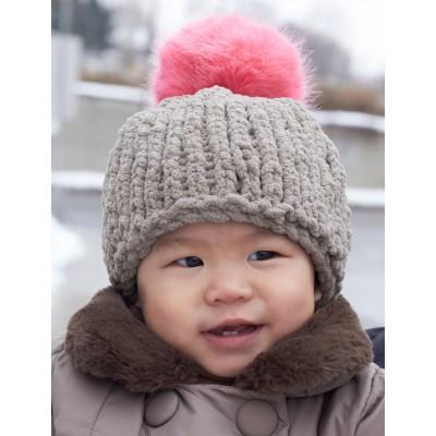 Bernat Big Stitch Baby Hat Free Knitting Pattern Knitting Bee