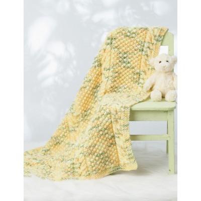 Bernat Cable Baby Blanket Free Knitting Pattern