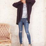 Big Jacket Free Knitting Pattern for Women