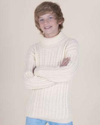 Boys Sweater Free Knitting Pattern
