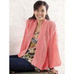Bright and Breezy Kimono Free Knitting Pattern