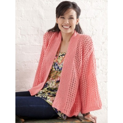 Free Free Womens Kimono Style Knit Pattern Patterns Knitting Bee