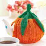 British Pumpkin Teacosy Free Knitting Pattern