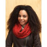 Cable Cowl Bernat Free Knitting Pattern