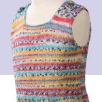 Child's Opal Tank Top Free Knitting Pattern