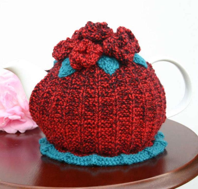 Drift Brights Tea Cosy & Mat Free Knitting Pattern