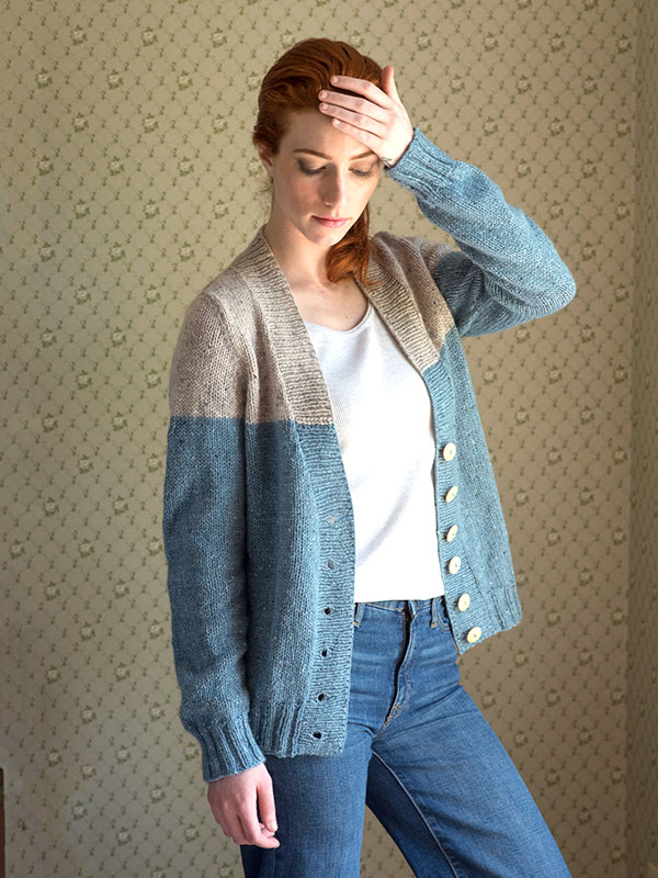 Free modern women\'s cardigan knitting patterns Patterns ⋆ Knitting ...