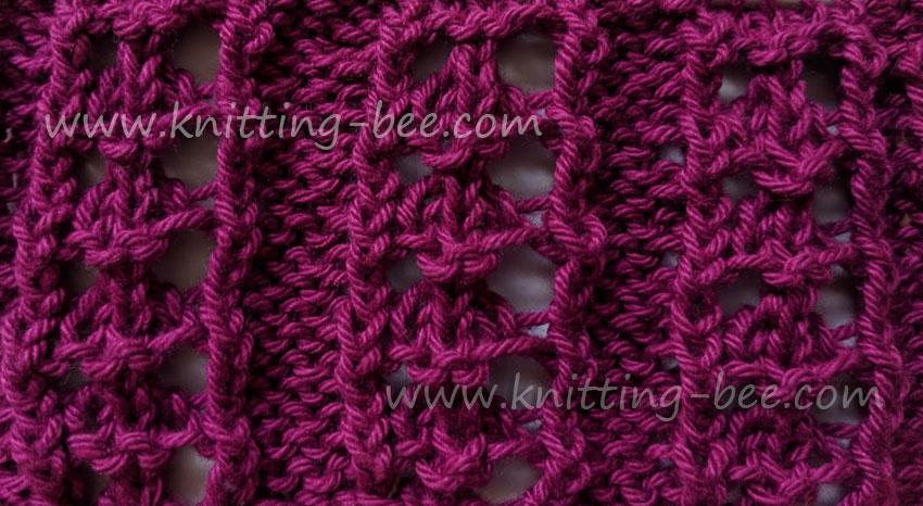 Knitting Stitch Library (216 free knitting patterns)