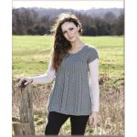 Fearne Cabled Tunic Free Knitting Pattern