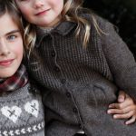Grace Cardigan for Girls Free Knitting Pattern